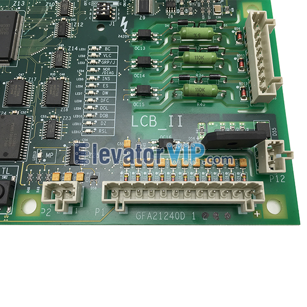Otis Elevator LCB_II Board, OTIS Lift LCB-II Motherboard, Otis LCB2 PCB, GFA21240D1, GGA21240D1, Otis Elevator LCB_II Board Supplier in Istanbul Turkey