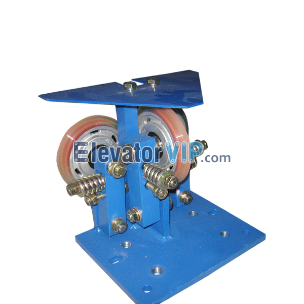 Otis Elevator Spare Parts Roller Guide Shoe (Triangular Plate) KAA24180A1, Elevator GEN2 Roller Guide Shoe, Elevator Roller Guide Shoe with Triangular Plate, OTIS Lift GEN2 Roller Guide Shoe, Elevator GEN2 Roller Guide Shoe Supplier, Elevator GEN2 Roller Guide Shoe Manufacturer, Elevator GEN2 Roller Guide Shoe Factory, Elevator GEN2 Roller Guide Shoe Exporter, Wholesale Elevator GEN2 Roller Guide Shoe, Cheap Elevator GEN2 Roller Guide Shoe for Sale, Buy Elevator GEN2 Roller Guide Shoe in China