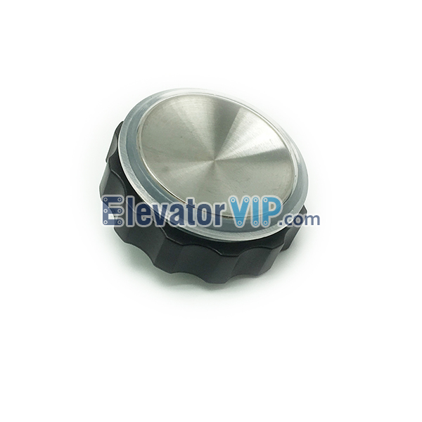 XIZI OTIS Elevator Push Button, OTIS Lift Push Button, OTIS Hairline Stainless Steel Push Button, BR27A, BR27B, BR27C, OTIS Elevator Push Button Used in COP, OTIS Elevator Push Button Red Lights, OTIS Push Button illumination Color Blue, Elevator Push Button White Lights with 4-Pins