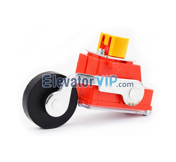 Otis Elevator Spare Parts LX26-111B Stroke Switch XAA177BW1, Elevator Limit Switch with Rubber Roller, OTIS LX26-111B Limit Switch, OTIS Elevator QM-S3-1370 Travel Switch, Elevator Travel Switch Supplier, Elevator Limit Switch Manufacturer, Wholesale Elevator Limit Switch, Cheap Elevator Limit Switch Online, Elevator Limit Switch for Sale, Elevator Limit Switch Exporter
