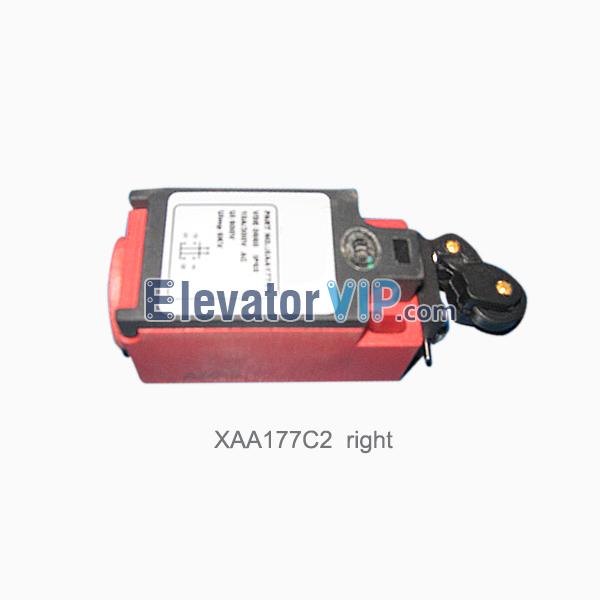Otis Escalator Spare Parts Comb Plate Lift Switch XAA177C2 (Right), Escalator XIZI OTIS Switch, LX2-412 Switch, OTIS Escalator ZR231, Escalator Switch Supplier, Escalator Switch Supplier Manufacturer, Escalator Switch Supplier Exporter, Wholesale Escalator Switch Supplier, Cheap Escalator Switch Supplier for Sale