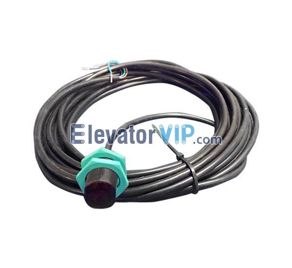 Otis Escalator Spare Parts Skirt Panel Optoelectronic XAA177GV1, Escalator Retroreflective Sensor, GLV18-6-4594, OTIS Retroreflective Sensor, Cheap Escalator Retroreflective Sensor Online, Wholesale Escalator Retroreflective Sensor, Escalator Retroreflective Sensor Supplier, Escalator Retroreflective Sensor Exporter, Escalator Retroreflective Sensor Manufacturer, Escalator Retroreflective Sensor Factory
