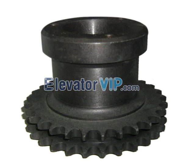 Otis Escalator Mechanical Parts Chain Sprocket XAA195P1, Escalator Double Strand Roller Chain Sprocket, Escalator Chain Sprocket 29 Teeth 08A, OTIS Hardened Teeth Chain Sprocket, Escalator Double Strand Roller Chain Sprocket Supplier, Escalator Double Strand Roller Chain Sprocket Manufacturer, Escalator Double Strand Roller Chain Sprocket Exporter, Escalator Double Strand Roller Chain Sprocket Factory, Cheap Escalator Double Strand Roller Chain Sprocket Online