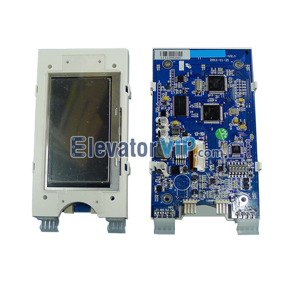 Otis Elevator Spare Parts 4.3 Inches TFT LCD Black Classic Display XAA25140AD23, Elevator 4.3