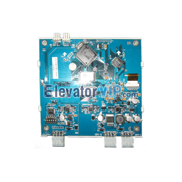 Otis Elevator Spare Parts 4.3 Inches TFT LCD UI2 Display XAA25140AD25, Elevator 4.3
