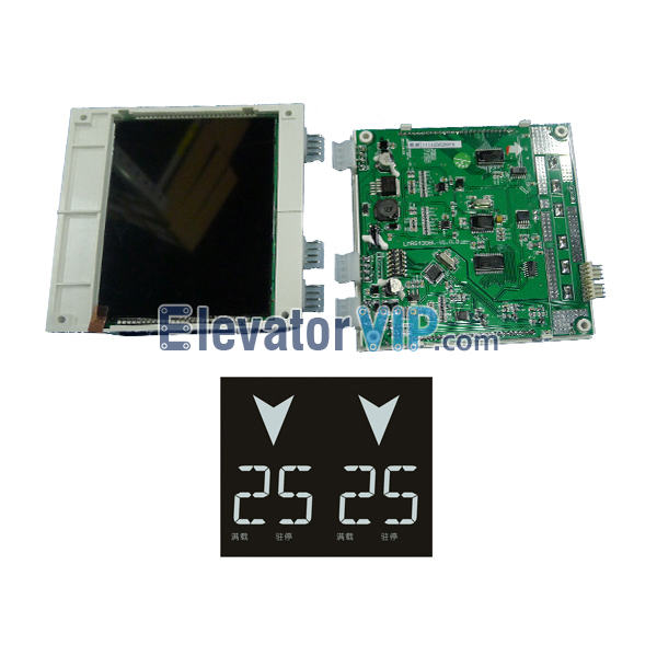 Elevator Duplex BND LCD Display, Elevator LCD Display Board, Elevator 4.3