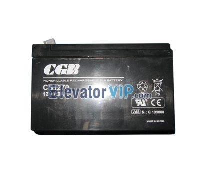 Otis Elevator Spare Parts 12V7AH GeN2 Vice Interphone Accumulator XAA25301H2, Elevator 12V7AH CGB Battery CB1270, Elevator Dedicated UPS Power Supply, Elevator Emergency Lights, OTIS GeN2 Lift Power Supply for Vice Interphone, Elevator Power Supply, Elevator Power Supply Supplier, Elevator Power Supply Manufacturer, Elevator Power Supply Exporter, Wholesale Elevator Power Supply, Elevator Power Supply Factory, Cheap Elevator Power Supply for Sale