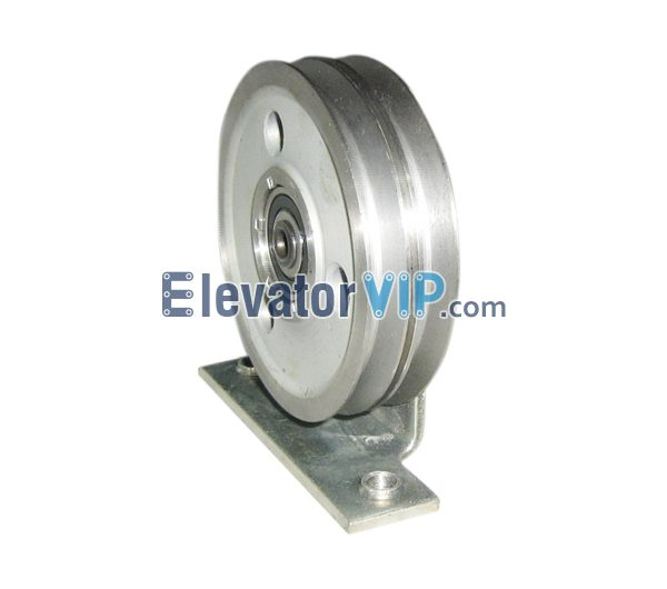 Otis Elevator Spare Parts Single Groove Sheave XAA265H1, Elevator φ90mm Stainless Steel Wire Rope Roller, Elevator Double Wheels Fixed Pulley, Elevator Steel Wire Rope Pulley, OTIS Double Grooves Sheave Pulley, Elevator Wire Rope Pulley Supplier, Elevator Wire Rope Pulley Exporter, Wholesale Elevator Wire Rope Pulley, Cheap Elevator Wire Rope Pulley for Sale, Elevator Wire Rope Pulley Manufacturer