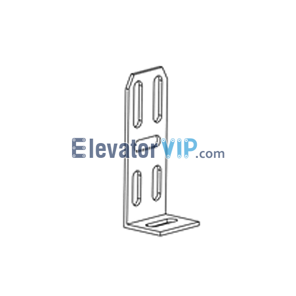 Otis Elevator Spare Parts Bracket XAA316DFW1, Elevator Over Door Installation Bracket, Elevator L-Angle Shaped Bracket, OTIS Elevator Mounting Unit for Landing Door, Elevator Door Fastener, Elevator Door Bracket for Sale, Elevator Door Bracket Exporter, Cheap Elevator Door Bracket Online, Elevator Door Bracket Supplier, Elevator Door Bracket Manufacturer, Elevator Door Bracket Factory