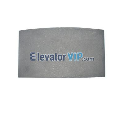 Otis Elevator Spare Parts 10*120 Brake shoes & Pads XAA416A1, Elevator Brake Pad, Elevator Brake Shoe, Elevator Brake Skin, OTIS Lift Brake Shoe, Elevator Brake Skin, Elevator Brake Pad Supplier, Elevator Brake Pad Manufacturer, Elevator Brake Pad Exporter, Cheap Elevator Brake Pad for Sale, Buy Elevator Brake Pad Online, Elevator 10*120mm Brake Pad, Elevator Brake Pad for 60HT/21HT Host