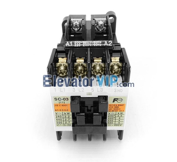 Otis Escalator Spare Parts Fuji Import Contactor XAA638AN1
