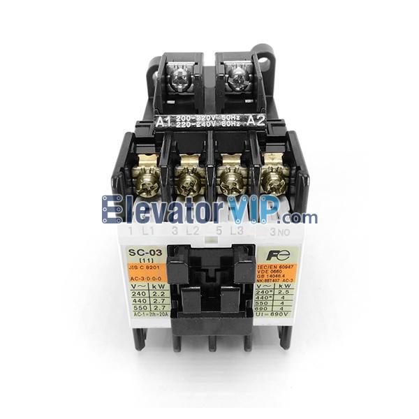 Otis Escalator Spare Parts Fuji Import Contactor XAA638AN1