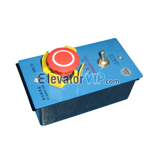 Elevator Pit Inspection Box, Elevator Inspection Box Device SDK-1D, Elevator Pit Inspection with Four Claw Yellow Emergency Stop Button, Elevator Pit Inspection with Hoistway Light, XIZI OTIS Elevator Pit Inspection, Elevator Pit Inspection Box Supplier, Elevator Pit Inspection Box Manufacturer, Elevator Pit Inspection Box Factory, Elevator Pit Inspection Box Wholesaler, Elevator Pit Inspection Box Exporter, Cheap Elevator Pit Inspection Box in China, XCA23750J4