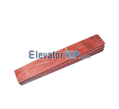 Otis Elevator Spare Parts Shoe Guide XWP243C2, Elevator Large MITSUBISHI Guide Shoe Insert, Elevator Large MITSUBISHI Guide Shoe Liner, Elevator Guide Shoe Insert Suited for Width 10mm of Guide Rail, OTIS Elevator Guide Shoe Insert, Elevator Guide Shoe Insert Supplier, Elevator Guide Shoe Insert Exporter, Elevator Guide Shoe Insert Factory, Elevator Guide Shoe Insert Manufacturer, Elevator Guide Shoe Insert Wholesaler, Cheap Elevator Guide Shoe Insert for Sale