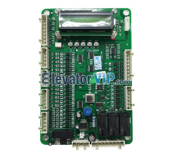 Elevator AMCB2 Board, OH5000 Control PC Board, Elevator OH5000 Control Board, OTIS Elevator Logic Control Panel, Elevator Motion Control Board, XAA610W1, AMCB2 V4.6M