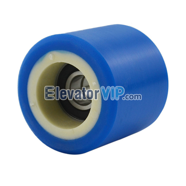 XIZI OTIS Escalator Handrail Support Roller Size 60*55*6202, Escalator Tension Wheel OD φ60mm Thickness 55mm with Bearing 6202RS, XAA290CZ1