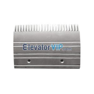 Escalator Spare Parts 24 Teeth Aluminum Comb Plate EEV453BM1