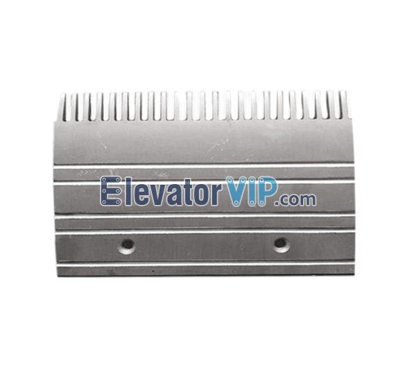 Aluminum Comb Plate for 508 Escalator, Escalator Comb Plate 23 Teeth Aluminum Material, Escalator Comb Plate, Escalator Comb Plate Length 197.994mm, OTIS Escalator Comb Plate, Escalator Comb Plate Supplier, Escalator Comb Plate Manufacturer, Escalator Comb Plate Exporter, Cheap Escalator Comb Plate for Sale, Wholesale Escalator Comb Plate, Escalator Comb Plate Factory Price, GAA453BM7