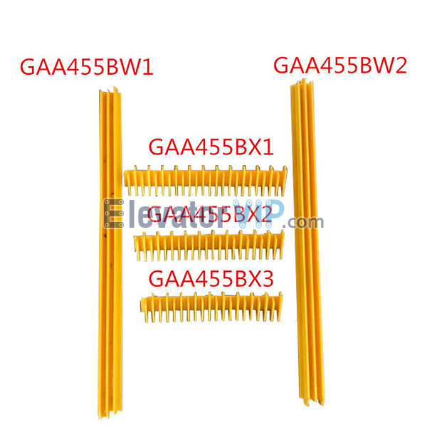 Otis Escalator Spare Parts Step Front Removable Demarcation Insert (Middle One) GAA455BX1 Front