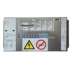 Elevator Spare Parts Door Operator DCSS5-E for DO2000/HPDS-VF/HSDS/DCDS, OTIS Lift Door Controller Supplier GJA24350BD10