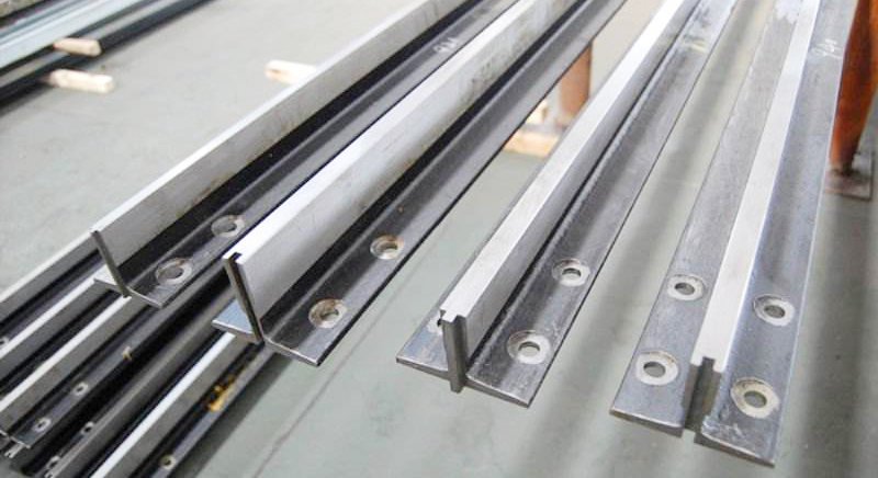 What is the elevator guide rail of Elevator Spare Parts