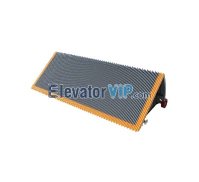 Otis Escalator Spare Parts Aluminum Alloy Step (Grey Tread Polished) XAA26140C27