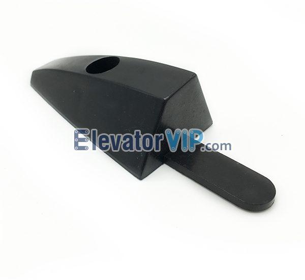Otis Escalator Safety Brush End Cap, Escalator Brush Plastic End Cap, Escalator Skirt Brush End Cap, XAA273CR1, XAA273CR2