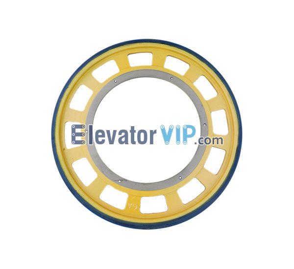 Escalator Handrail Friction Wheel, Escalator Friction Wheel OD574mm, Escalator Friction Wheel Yellow, OTIS Escalator Friction Wheel, Escalator Friction Wheel, Escalator Friction Wheel Supplier, Escalator Friction Wheel Manufacturer, Escalator Friction Wheel Exporter, Escalator Friction Wheel Wholesaler, Cheap Escalator Friction Wheel for Sale, Buy Quality & Original Escalator Friction Wheel Online, Escalator Friction Wheel Factory Price, XAA290DX1