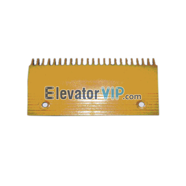 Escalator Comb Plate 22 Teeth PC Material, Escalator Comb Plate Yellow, Escalator Comb Plate Length 204.3mm, OTIS Escalator Comb Plate, Escalator Comb Plate Supplier, Escalator Comb Plate Manufacturer, Escalator Comb Plate Exporter, Cheap Escalator Comb Plate for Sale, Wholesale Escalator Comb Plate, Escalator Comb Plate Factory Price, XAA453AZ1