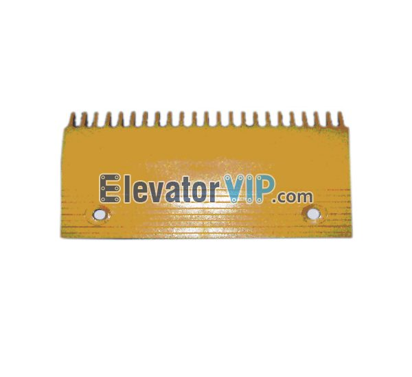 Escalator Comb Plate 22 Teeth PC Material, Escalator Comb Plate Yellow, Escalator Comb Plate Length 204.3mm, OTIS Escalator Comb Plate, Escalator Comb Plate Supplier, Escalator Comb Plate Manufacturer, Escalator Comb Plate Exporter, Cheap Escalator Comb Plate for Sale, Wholesale Escalator Comb Plate, Escalator Comb Plate Factory Price, XAA453AZ3
