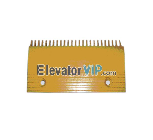 Escalator Comb Plate 25 Teeth PC Material, Escalator Comb Plate Yellow, Escalator Comb Plate Length 214.2mm, OTIS Escalator Comb Plate, Escalator Comb Plate Supplier, Escalator Comb Plate Manufacturer, Escalator Comb Plate Exporter, Cheap Escalator Comb Plate for Sale, Wholesale Escalator Comb Plate, Escalator Comb Plate Factory Price, XAA453C2