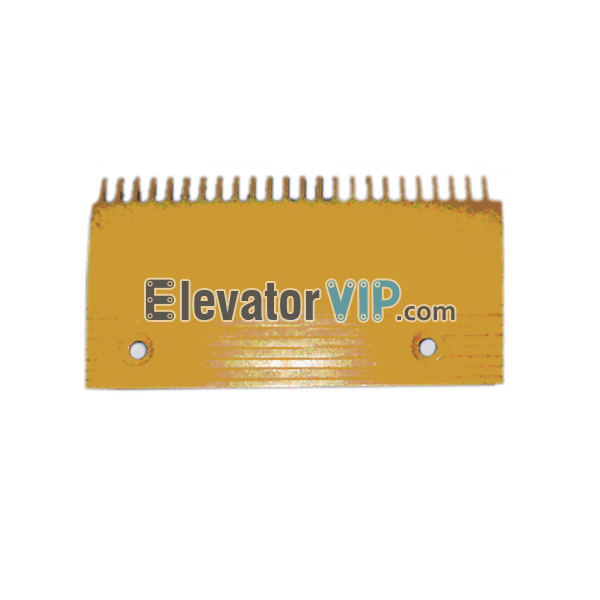 Escalator Comb Plate 24 Teeth PC Material, Escalator Comb Plate Yellow, Escalator Comb Plate Length 205.8mm, OTIS Escalator Comb Plate, Escalator Comb Plate Supplier, Escalator Comb Plate Manufacturer, Escalator Comb Plate Exporter, Cheap Escalator Comb Plate for Sale, Wholesale Escalator Comb Plate, Escalator Comb Plate Factory Price, XAA453C4