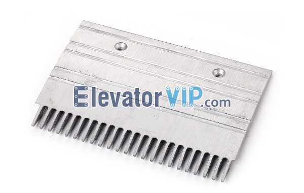 Otis Escalator Spare Parts 23 Teeth Aluminum Comb Plate (Middle) XAA453CQ8