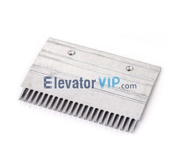 Otis Escalator Spare Parts 23 Teeth Aluminum Comb Plate (Middle) XAA453CQ8