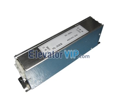 Elevator HL-30EB Noise Filter, Elevator Noise Filter 50/60Hz 480VAC 30A, XIZI OTIS Lift Filter, Elevator Noise Filter Supplier, Elevator Noise Filter Manufacturer, Elevator Noise Filter Factory Price, Elevator Noise Filter Exporter, Wholesale Elevator Noise Filter, Cheap Elevator Noise Filter for Sale, Buy Quality & Original Elevator Noise Filter Online, XAA657M1