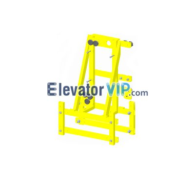 Suspended Platform Hoist Support, Suspended Platform Hoist Bracket, Hanging Basket Hoist Support Supplier, Hanging Basket Hoist Exporter, Wholesale Wire Rope Suspended Platform Hoist, Cheap Wire Rope Suspended Platform Hoist, climb cable device support, XWE206AZ01