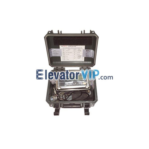 elevator wire rope tensioning system, rope tension measurement device, wire rope tensioner tool, Elevator Traction Wire Rope Tension Adjustment, tension adjuster of elevator traction rope, how to tension elevator wire rope, Wire Rope Tension Adjustment Tester Supplier, cheap elevator tensioning adjustment tool, XWE208H63
