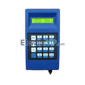 Elevator Spare Parts Original New Elevator Service Tool (Blue), OTIS Universal Elevator Test Tool with Adapter Unlimited Times Unlock Supplier GAA21750AK3