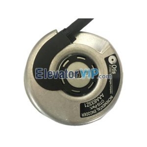 Elevator Spare Parts OTIS GEN2 Elevator Incremental Encoder ERN 461 3600 56S15-4G 100% Original New With Cable AAA633Z1 / AAA633Z21