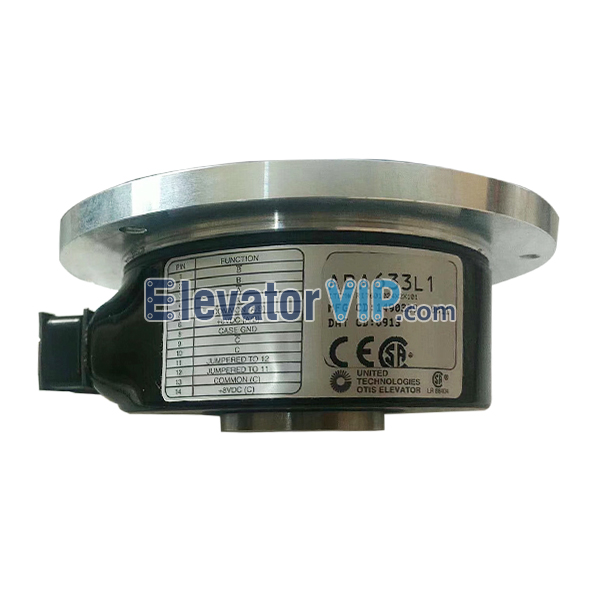OTIS Elevator Encoder, Elevator Encoder, Elevator Safety Device, Elevator Encoder Supplier, Elevator Encoder Manufacturer, Wholesale Elevator Encoder, Elevator Encoder Factory Price, Elevator Encoder Exporter, Cheap Elevator Encoder Online, Buy Quality Elevator Encoder, 100% Original New Elevator E311 Encoder, ABA633L1, AAA633L1