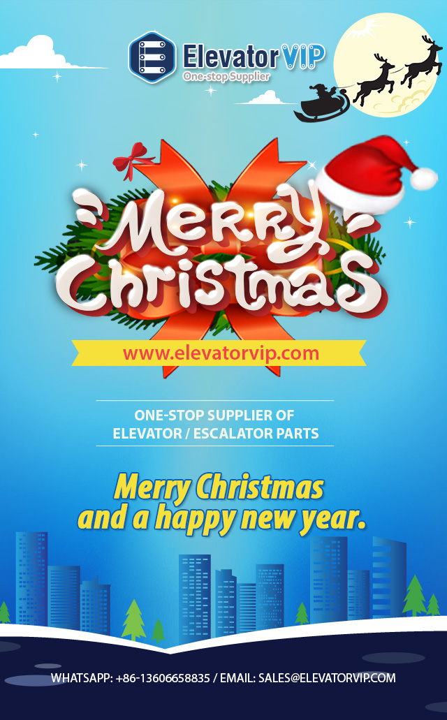 One-stop Supplier of Elevator / Escalator Parts Christmas Best Wishes to Customers elevatorvip.com