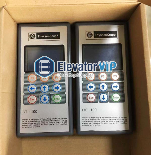www.elevatorvip.com Functions of Thyssenkrupp Elevator Service Tool (Elevator Test Tool) DT-100