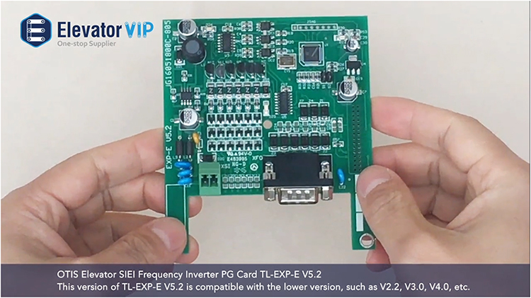 OTIS Elevator SIEI Frequency Inverter PG Card TL-EXP-E V5.2 This version of TL-EXP-E V5.2 is compatible with the lower version, such as V2.2, V3.0, V4.0,etc.