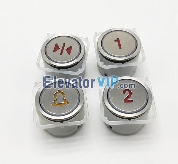 Hyundai Elevator Push Button, Fuji Elevator Push Button, AK-4CB, AK-4 Push Button, BA216 Push Button
