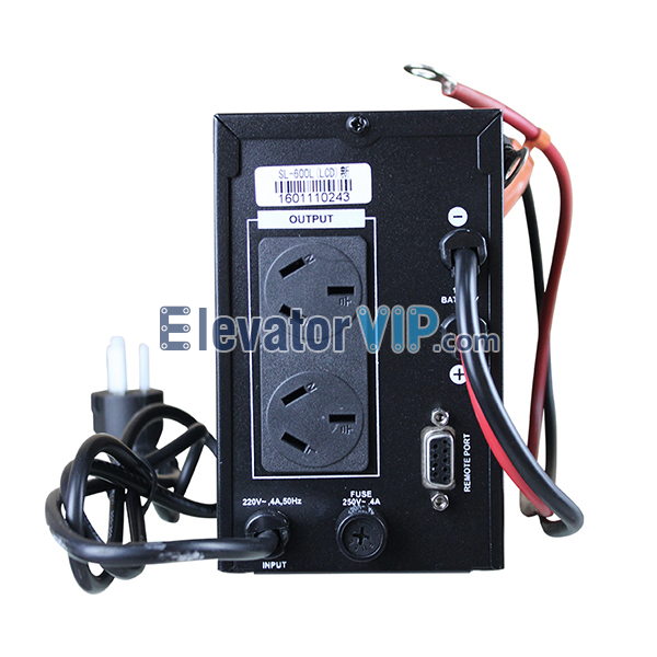 SVC Power Supply, Elevator UPS Manufacturer, Lift Motor Room UPS, Uninterruptible Power Supply, SL-600L UPS, SVC SL-600L, UPS with LCD Display, UPS External Battery Delay, Sine Wave Uninterruptible Power Supply, UPS 600VA, 300W UPS, Lift UPS with Factory Price, Cheap Elevator Motor Room UPS for Sale, High Quality Lift UPS, UPS for Motor Room of Mitsubishi Elevator