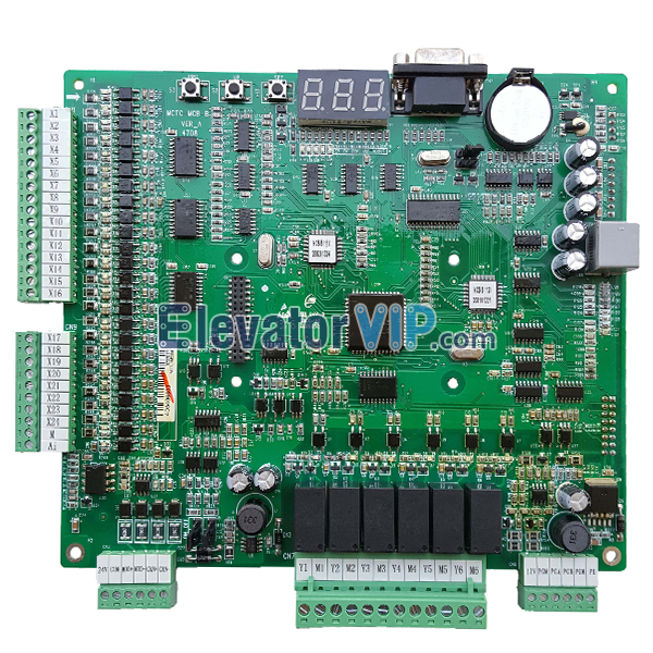 Nippon Elevator Step Controller, MCTC-MCB-B, Monarch NICE3000 Controller, SJEC Step Controller Display Board, Cheap Elevator NICE3000 Controller, Monarch elevator controller Motherboard, MCTC-MCB-C2, MCTC-MCB-C3, Monarch Nice3000 Elevator Control System, Monarch Motherboard for Lift, Monarch Elevator NICE3000 Inverter PCB, Monarch Main Board Manufacturer, Cheap Monarch Main Board