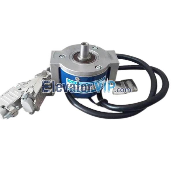 OIH76-4096L2C2-15V, AAA633AJ401, TS5216N477, TAA27076ADY1, AAA633AJ1, OTIS Elevator Encoder, TAMAGAWA SEIKI Encoder, Traction Machine Encoder, OTIS Lift Motor Machine Encoder, Elevator Traction Machine Encoder, Lift Encoder Manufacturer, Elevator Encoder with Factory Price, Cheap Elevator Traction Machine Encoder
