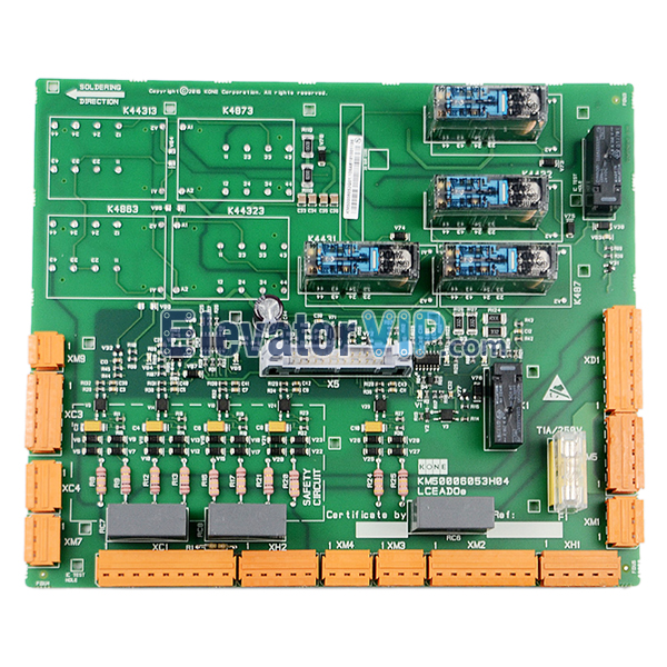 KONE Elevator Safety Circuit Board, KONE Lift LCEADOE PCB Board, KONE Elevator Control Mainboard, KONE LCEADO RESOLVE 100, KM50006053H04, KM50006052G01, KM50006052G02, KONE Safety Circuit Board with Factory Price, Elevator Second Generation Safety Circuit Board, KONE Lift Control Motherboard in India