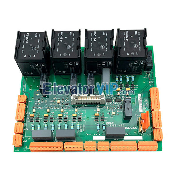 KONE Elevator Safety Circuit Board, KONE Lift PCB Board, KONE LCEADO Mainboard, LCEADO RESOLVE 100, KONE 2 Generation Electronic Power Card, KONE LCE230 ADO, KONE LCE230 ACL, 713163H06, 713163H04, KM713160G01, KM713160G02, KONE LCEADOE PCB ASSEBY in India, Cheap Lift Safety Circuit Board for Kone