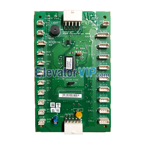 KONE Elevator LCECOB Motherboard, KONE Lift COP Board, KONE Door Side Board for lift Car, KM713720G11, KM713720G31, KM713720G51, KM713720G71, 713723H03, 713723H04, 713723H05, KONE LCECOB Board Manufacturer, Cheap KONE COP Board with Factory Price